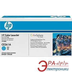 Картридж HP (CE261A) HP CLJ Enterprise CP4025dn/ 4025n/ 4525dn/ 4525n/ 4525xh Cyan