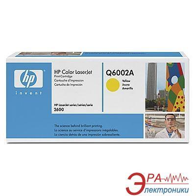 Картридж HP (Q6002A) HP Color LaserJet 1600, HP Color LaserJet 2600, HP Color LaserJet 2605, HP Color LaserJet CM1015, HP Color LaserJet CM1017 Yellow