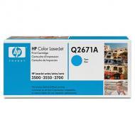 Картридж HP (Q2671A) HP Color LaserJet 3500, HP Color LaserJet 3550, HP Color LaserJet 3700 Cyan