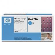Картридж HP (Q6471A) HP Color LaserJet 3600, HP Color LaserJet 3800, HP Color LaserJet CP3505 Cyan