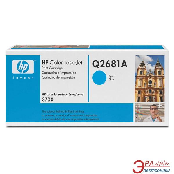 Картридж HP (Q2681A) HP Color LaserJet 3700 Cyan