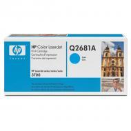 Картридж HP (Q2681A) HP Color LaserJet 3700 Cyan