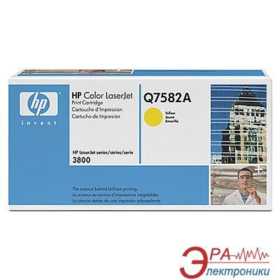 Картридж HP (Q7582A) HP Color LaserJet 3800, HP Color LaserJet CP3505 Yellow