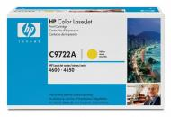 Картридж HP (C9722A) HP Color LaserJet 4600, HP Color LaserJet 4610, HP Color LaserJet 4650 Yellow