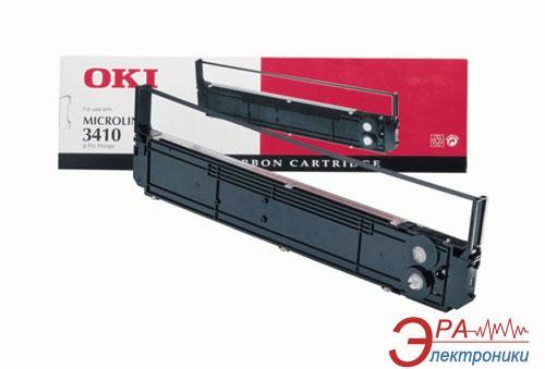 Картридж OKI Ribbon 3410 (09002308/01179402) OKI Microline 3410 Black