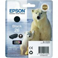 Картридж Epson (C13T26014010) (XP-600/605/700) Black
