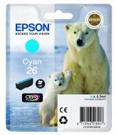 Картридж Epson (C13T26124010) (XP-600/605/700) Cyan