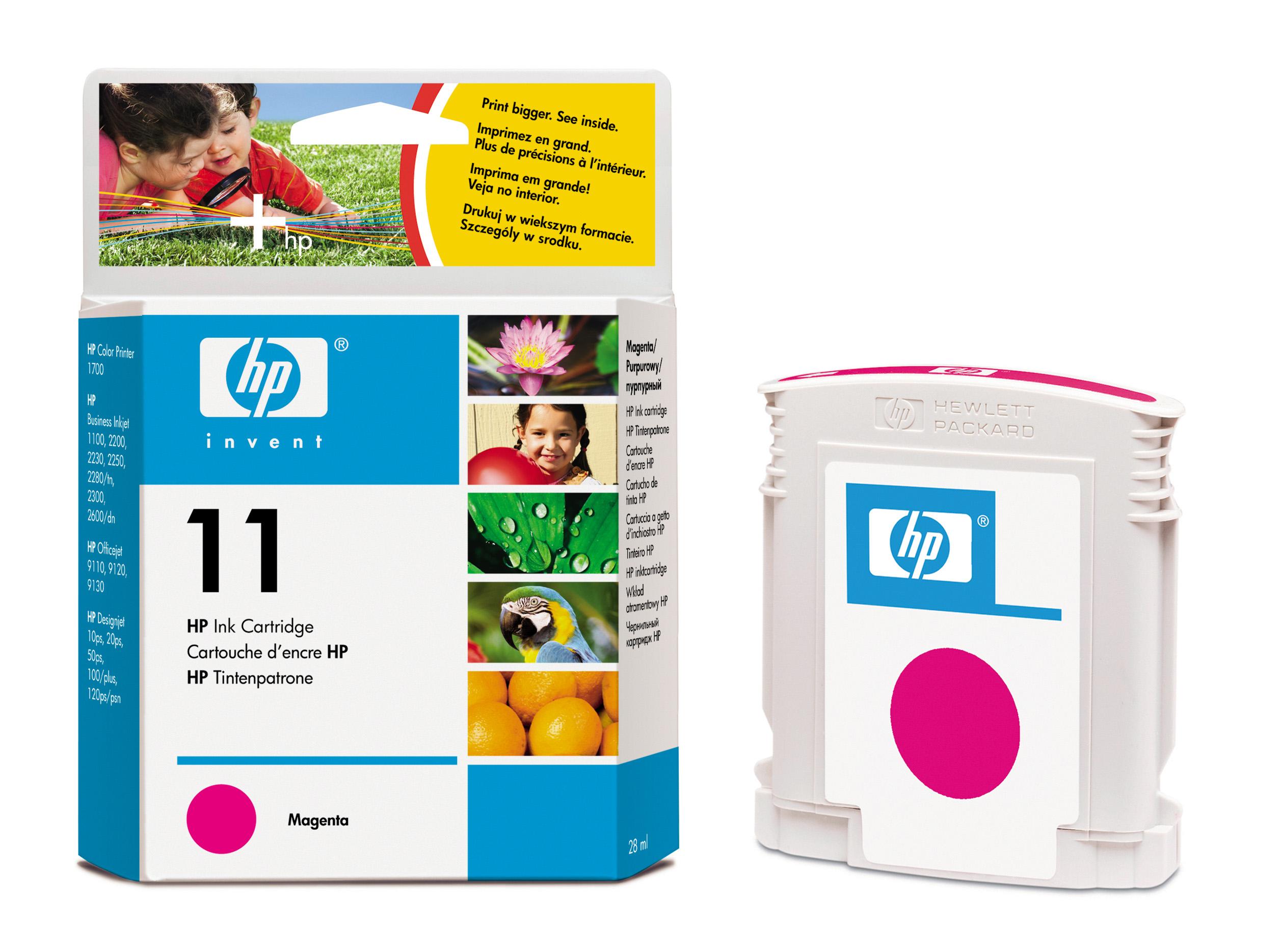 Картридж HP (C4837A) business inkjet 1000/1100d/1100dtn/1200/2200/2230/2250/2280/2300/2500/2600/2800, cp1700, DesignJet 10ps/20ps, DesignJet 70/100/110plus/111, OfficeJet 9110/9120/9130, OfficeJet Pro K850 series Magenta