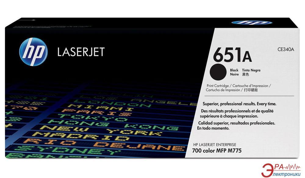 Картридж HP 651A (CE340A) (LJ M775dn/ M775f/ M775z/ M775z+) Black
