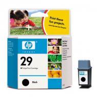 Картридж HP No.29 (51629AE) (DJ600 DW600 DJ 660C 670C DW 660C 670C DJ 690C 695C OJ 500 590 635 700 710 725) Black