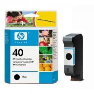 Картридж HP No.40 (51640AE) (DJ 1200 C/PS CopyJet CopyJet M DesignJ 230 250C 430 330 450C 455CA 350C 488CA 650C 650C/PS) Black