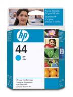 Картридж HP No.44 (51644CE) (DesignJ 450C/455CA/350C DesignJ 488CA DesignJ 755CM/750C/ 750C Plus) Cyan