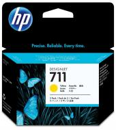 Картридж HP 711 (CZ136A) (DesignJet T120/T520) Yellow