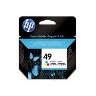 Картридж HP No.49 (51649AE) (DJ 350C/600 DW 600 DJ 610C/640С/660C/670C DW 660C/670C DJ 690C/695C OJ 500/590 OJ 700/710/725 DJ 656c) Color (C, M, Y)