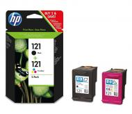 �������� HP 121 (CN637HE) (DeskJet D2563/D2663/ D5563/F2483/ F4583/F4283/ C4683/C4783) Bundle (C, M, Y, Bk)