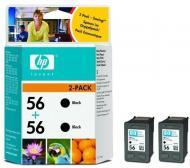 Картридж HP (C9502AE) 2-pack DeskJet 5150/5550/5652, DeskJet 9650/9670/9680, DeskJet 450ci/cbi, Photosmart 7150/7260/7350/7550/7660/7760/7960, PSC 1110/1210/1350/2110/2175/2210, OfficeJet 4110/5510/5610/6110. Black