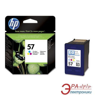 Картридж HP (C6657AE) DeskJet 5150/5550/5652, DeskJet 9650/9670/9680, DeskJet 450ci/cbi, Deskjet F4180, Photosmart 7150/7260/7350/7550/7660/7760/7960 и Photosmart 100/130/145/230/245, PSC 1110/1210/1350/2110/2175/2210, OfficeJet 4110/5510/6110. Color (C,