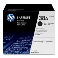 Картридж HP 38A Dual Pack (Q1338D) (LJ 4200) Black