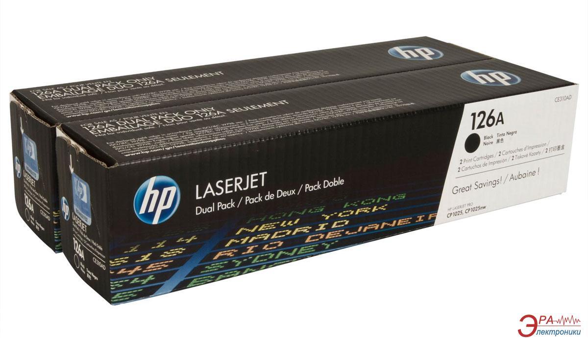 Картридж HP 126A (CE310AD) (CP1025/CP1025nw) Black