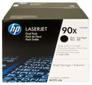 Картридж HP 90X Dual Pack (CE390XD) (LJ Enterprise 600/ 602dn/ 602n/ 602x/ 603dn/ 603n/ 603xh/ M4555/ M4555f /M4555fskm/ M4555h MFP) Black