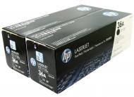 �������� HP 36A  Dual Pack (CB436AF) (LaserJet P1505, LaserJet M1120/1522) Black