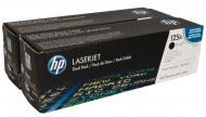 Картридж HP 125A Dual Pack (CB540AD) (LaserJet CP1215/ CP1515/ CP1518/ CM1312) Black