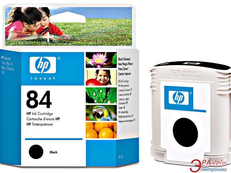 Картридж HP No.84 (C5016A) HP DesignJet 10, HP DesignJet 120, HP DesignJet 130, HP DesignJet 20, HP DesignJet 50, HP DesignJet 90 Black