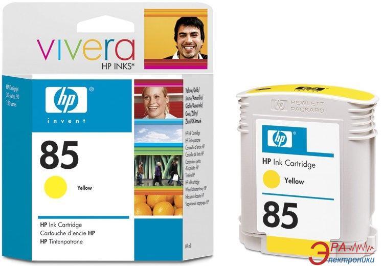 Картридж HP (C9427A) HP DesignJet 130, HP DesignJet 30, HP DesignJet 90 Yellow