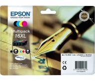 Картридж Epson 16XL (C13T16364010) (WF-2010) Bundle (C, M, Y, Bk)