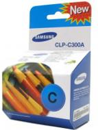 Картридж Samsung (CLP-C300A/ELS) Samsung CLP-300, Samsung CLX-2160, Samsung CLX-3160 Cyan