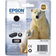 Картридж Epson 26XL (C13T26214010) (XP-600/605/700/800) Black