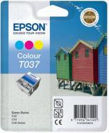 Картридж Epson (C13T03704010) (Stylus C42/C44) Color (C, M, Y)