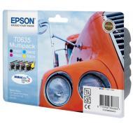 Картридж Epson (C13T06354A10) (StC67/C87, CX3700/4100/4700) Bundle (C, M, Y, Bk)