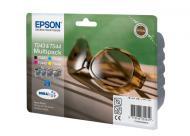 �������� Epson (C13T04324010) (Stylus C84/C86 CX6400/6600) Bundle (C, M, Y, Bk)