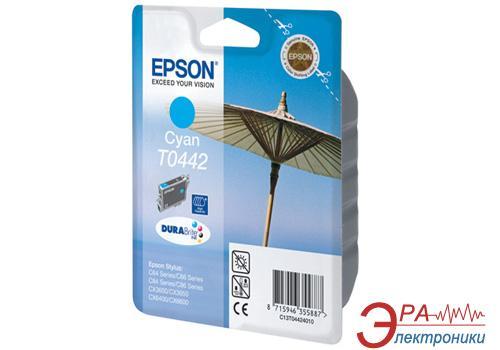 Картридж Epson (C13T04424010) (Stylus C84/C84PE/C86/C86PE, CX6400/6600) Cyan