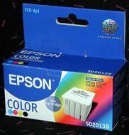 Картридж Epson (S020138) Epson Stylus Color 300 Bundle (C, M, Y, Bk)