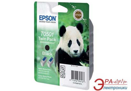 Картридж Epson double (C13T05014210) (Stylus Color 400/440/460/500/600/640/660/670, Photo 700/710/720/750/1200 Stylus Photo EX/EX2) Black
