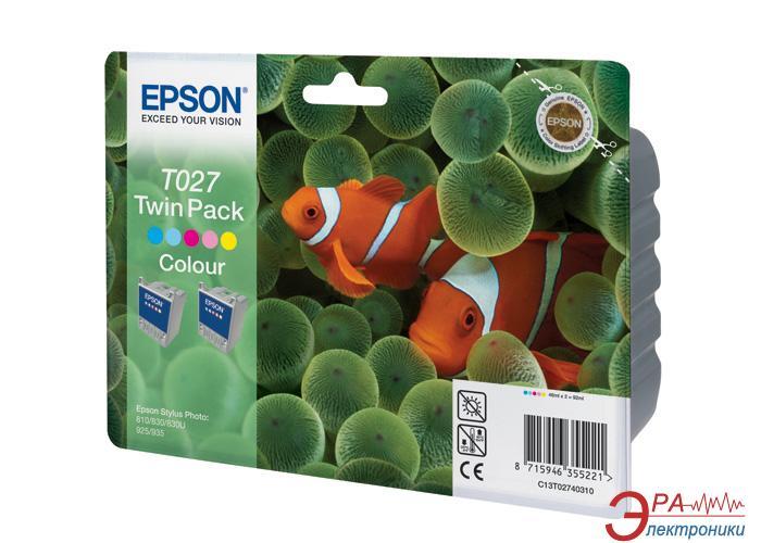 Картридж Epson double (C13T02740310) (Stylus Photo 810/830/925/935) Color (C, M, Y)