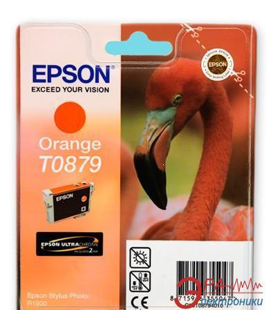 Картридж Epson (C13T08794010) (Stylus Photo R1900) Orange