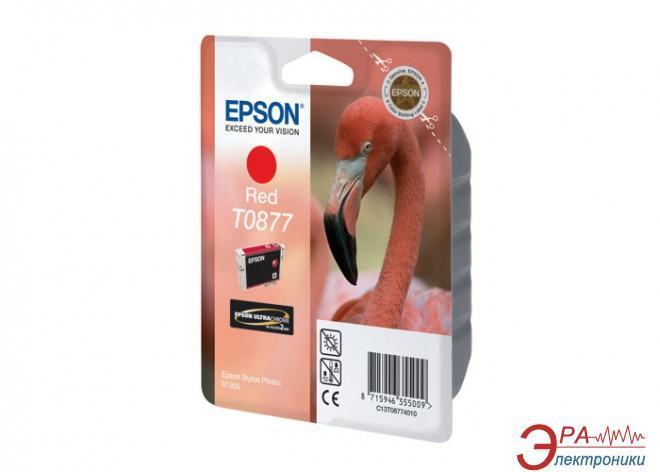 Картридж Epson (C13T08774010) (Stylus Photo R1900) Red