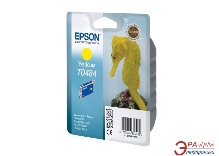 Картридж Epson (C13T04844010) (StPhoto R200/220/300/320/340, RX500/600/620/640) Yellow