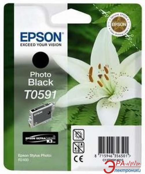 Картридж Epson (C13T05914010) (StPhoto R2400) photo black
