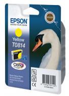 Картридж Epson (C13T11144A10) (C13T08144A) (Stylus Photo R270/R290/R295/R390/RX590/RX610/RX615/RX690/TX700W/TX800W/ T50/T59/TX650/TX659/TX710W/1410) Yellow