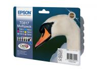 �������� Epson (C13T11174A10) (C13T08174A10) (Stylus Photo R270/R290/R295/R390/RX590/RX610/RX615/RX690/TX700W/TX800W/T50/ T59/TX650/TX659/TX710W/1410) Bundle (Bk,C,M,Y,LC,LM)