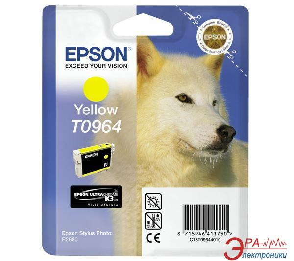 Картридж Epson (C13T09644010) (Stylus Photo R2880) Yellow