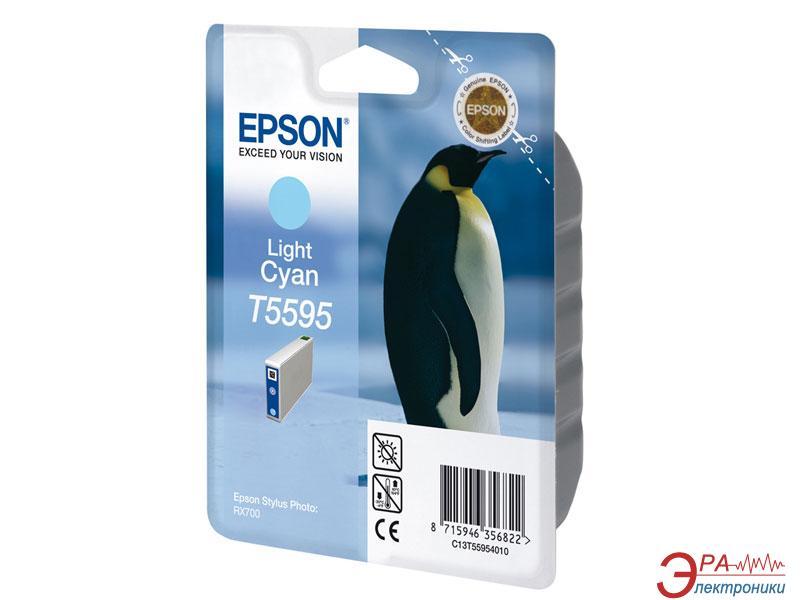 Картридж Epson (C13T55954010) (Stylus Photo RX700) light cyan