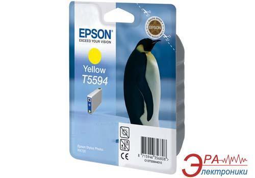Картридж Epson (C13T55944010) (Stylus Photo RX700) Yellow