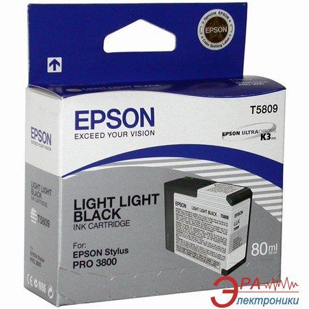 Картридж Epson (C13T580900) (StylusPro 3800) light light black
