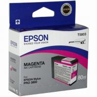 Картридж Epson (C13T580300) (StylusPro 3800) Magenta