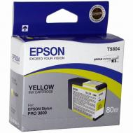 Картридж Epson (C13T580400) (StylusPro 3800) Yellow